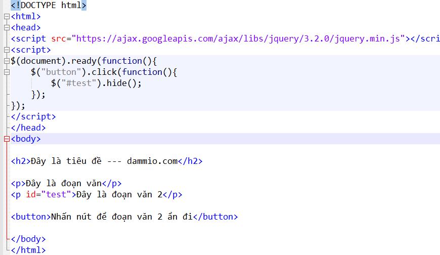 [JQuery] Phần 3: Các hàm chọn jQuery (jQuery Selectors)