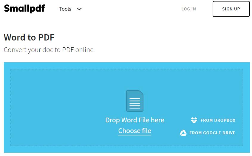Các trang web cho phép chuyển đổi từ Word sang PDF tốt nhất