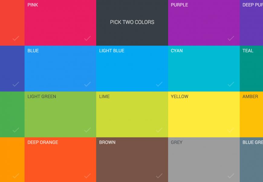 [Web Colors] Phần 2: Tên màu sắc trong Web