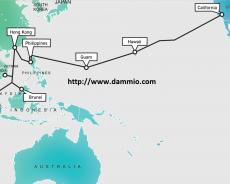 Tuyến cáp quang dưới biển AAG (Asia-America Gateway)