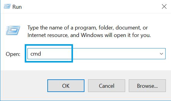 Các dòng lệnh hữu ích trong hộp thoại RUN Windows