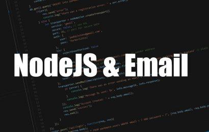 [Node.js] Phần 10: Gửi email bằng Node.js