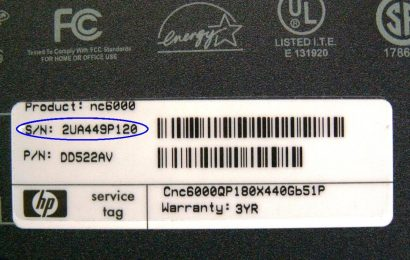 Cách xem Tên (Name) và Số Seri (SerialNumber) của Laptop và Desktop