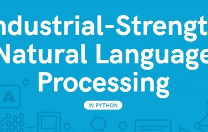 Cài đặt thư viện spaCy dùng để xử lý ngôn ngữ tự nhiên trong Python trên hệ điều hành Windows