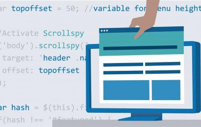 Bố cục trang web Bootstrap 4 cơ bản